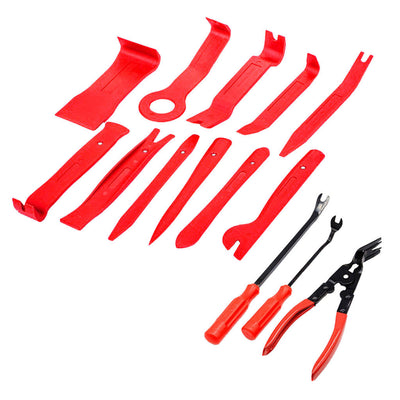 Car Repair Tool Audio Radio Removal Tool Panel Trim Install Open Set 14Pcs