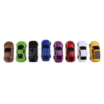 8PCS Pull Back Car Assorted Vehicle Toys for Kids Toddler Party Favors 1:64