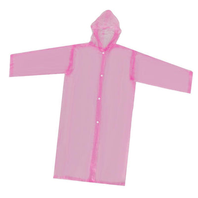 4x Non-disposable Waterproof Kid Child Raincoat Poncho for Walking Emergency