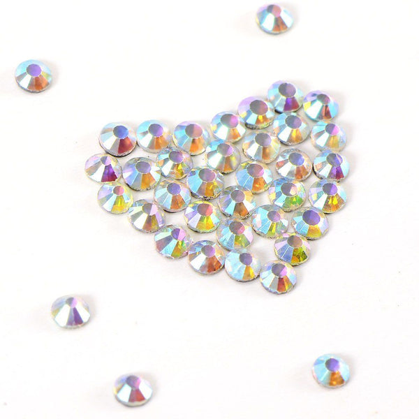 1440 colorful fusible crystal rhinestone 2, 7-2, 9mm M6X8 J3E6