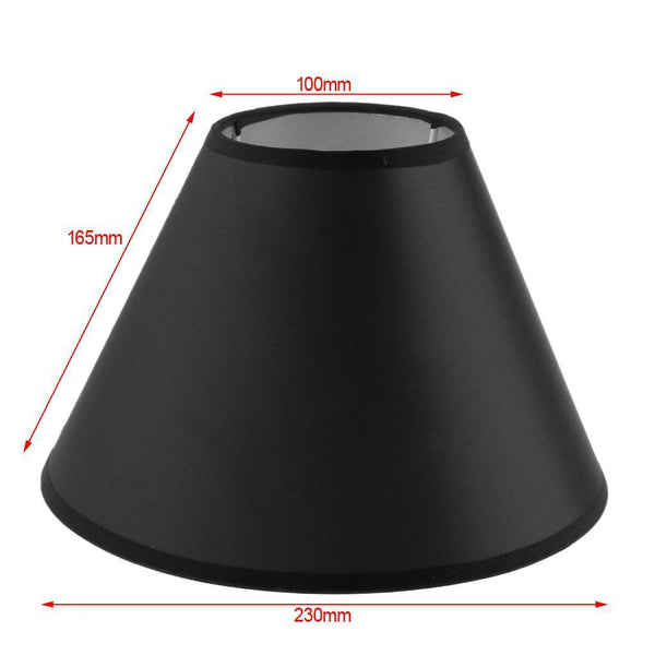 Table Lamp Shade Lampshade Cover Bedside Lamp Desk Lamp Home Lighting Black