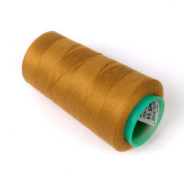 Spool of 3000 Yards Polyester Sewing Thread for Curtain Jean Making 3 Colors