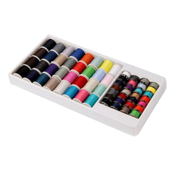 60 Spools Mixed Colors 100Polyester Sewing Quilting Threads Set All Purpose