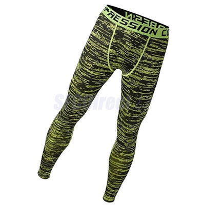 (2Packs) Men Fashion Legging Tight Trousers Workout Sport Fitness Pants