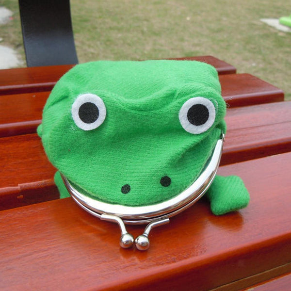 Anime Uzumaki Naruto Frog Shape Coin Purse & Jinchuuriki Blue Necklace Combo