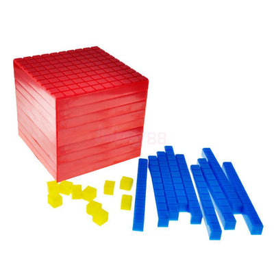 Set 1000pcs Mini Counting Centimetre Cubes 1cm Learning Teaching Tool Kit