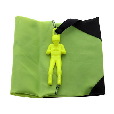 3pcs Mini Hand Throw Parachute Soldier Outdoor Sports Kids Educational Toys