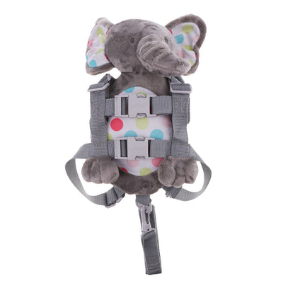 Baby Kids Backpack Anti-lost Toddler Walking Safety Harness Strap Elephant