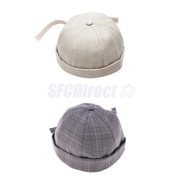 2xKid Skullcap Watch Cap Docker Hat Beanie Sailor Fisherman Retro Outfit hat