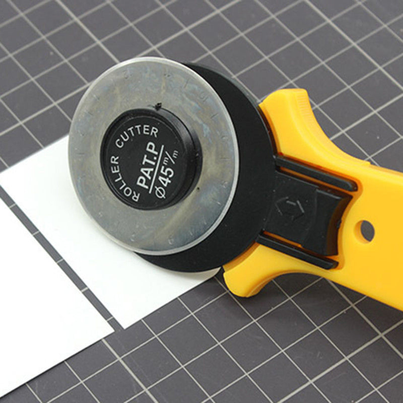 1pcs Rotary Cutter 45mm Blades Fabric Fiskars Quilting Sewing Cutter Tools
