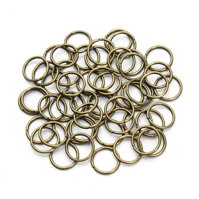 2 Boxes Metal Open Jump Rings Jewelry Accessories Making Supplies DIY Craft