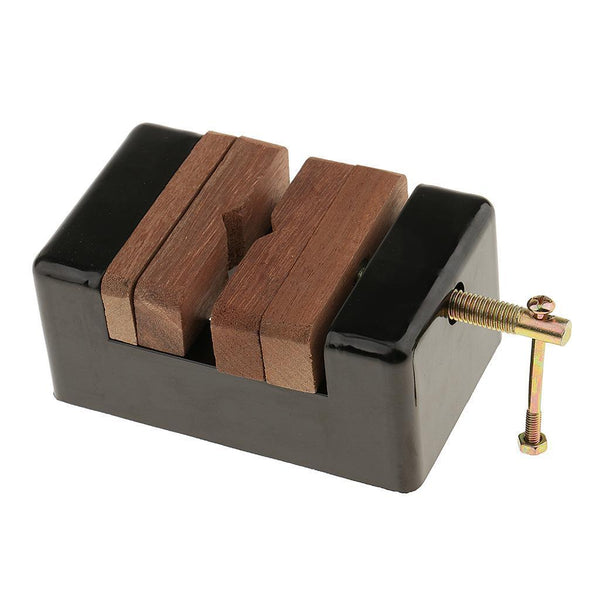 Wooden Plastic Seal Bed Stamp Bed for Carving Stamp Stone Fixed Tool Crafts