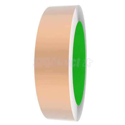 Double Copper Foil Ribbon EMI Shield Tape 2.5cm*33m for Fender Strat Guitars