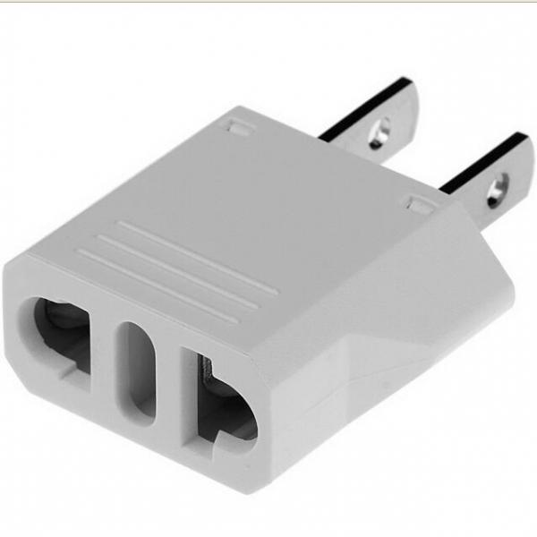 EU / AU / Italian to US AC Power Plug Converter Travel Adapter Charger 10pcs