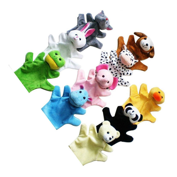 Cute Animal Hand Puppets Toys Set for Kids Children, Set of 10 SH