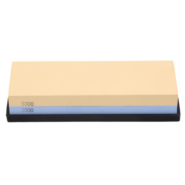 1pc Double-sided Sharpening Stone Waterstone Dual Whetstone 2000/5000# Grits