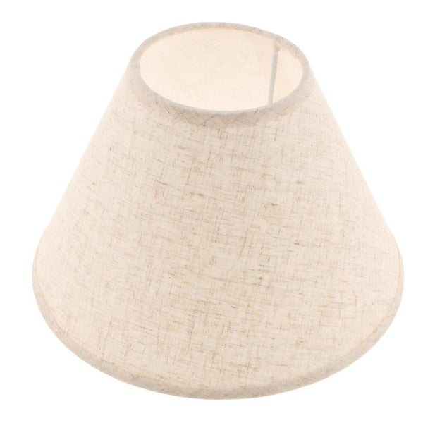 Table Lamp Shade Lampshade Cover Bedside Lamp Desk Lamp Home Lighting Flaxen