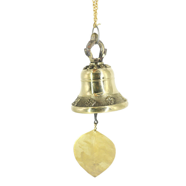Retro Hanging Wind Chime Bell Chinese Brass Buddhist Feng Shui Luck Bell #2