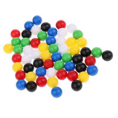 60pcs 1cm Diameter Balls for Wooden Connecting Four Balls in A Line Game