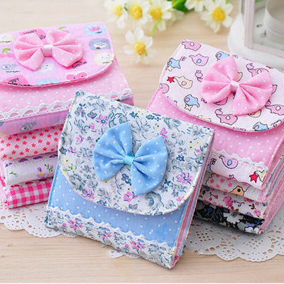Women Girl Sanitary Napkin Towel Pads Small Bag Purse Holder Organizer AU72