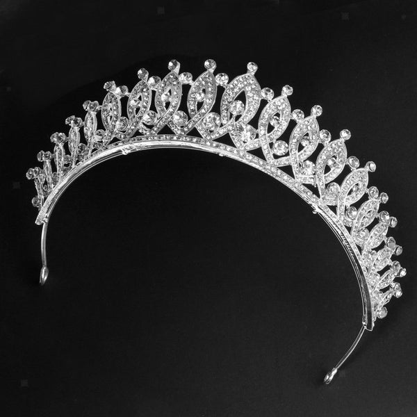 Pageant Wedding Bridal Rhinestone Headband Crown and Tiaras Women Jewelry