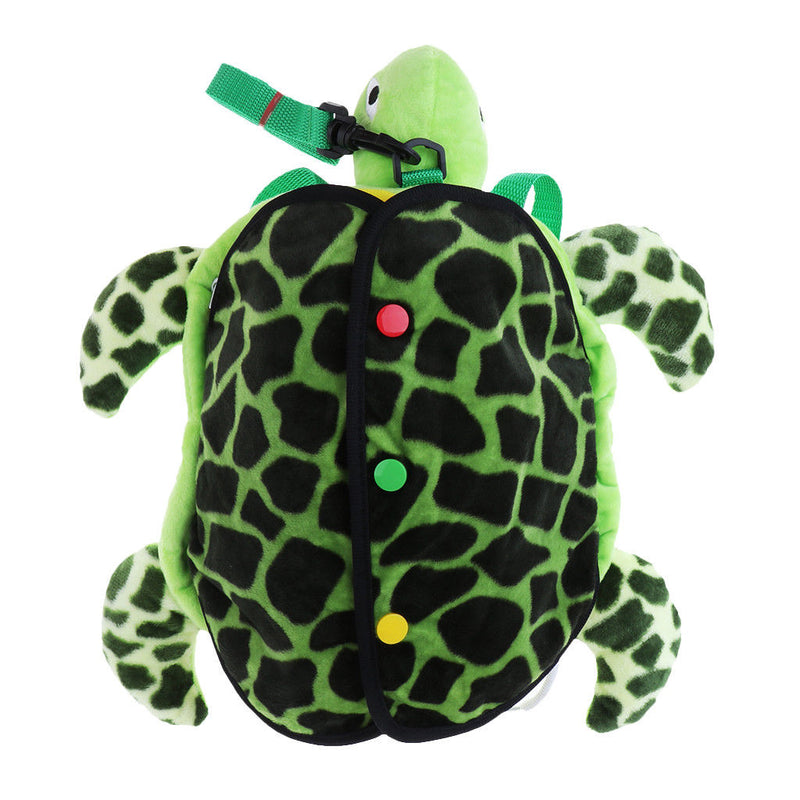 Toddler Kid Backpack with Safety Harness Leash Turtle Boy Girl Under 3 Age