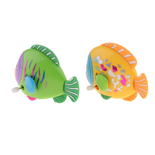 Random Kids Toys Wind Up Fish Animal Bathing Shower Clockwork Toys Xmas Gift