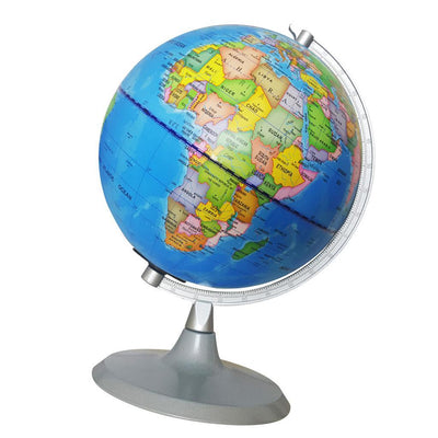 20cm Educational Illuminated World Globe Constellation Map Lights USB Plug