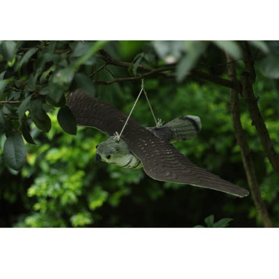 Flying Bird Hawk Decoy Pest Control Garden Defense Deter Scarer Scarecrow
