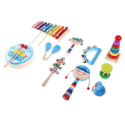 Orff World Musical Instruments Kids Music Learning Set Children Education #4