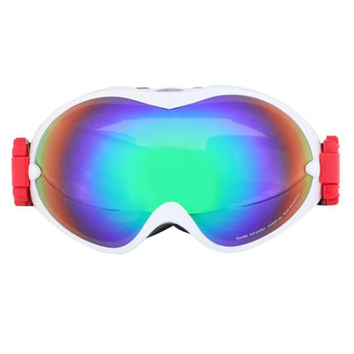 MagiDeal Women Anti-fog UV 400 Ski Goggles Plus Waterproof Snow Ski Gloves