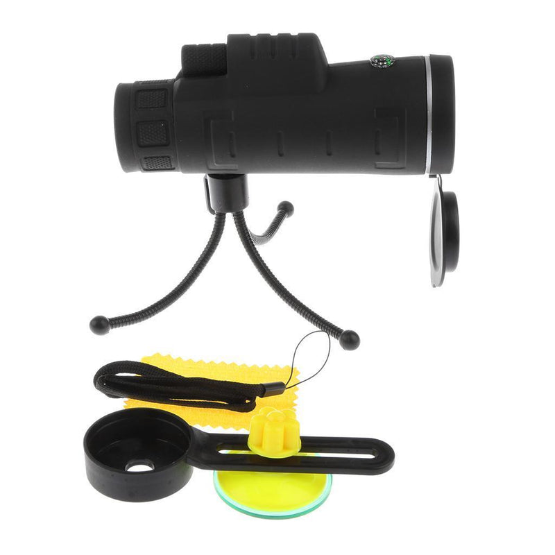 Telescope Camera Lens Kit with Compass & Tripod & Clip for Mobile Phone