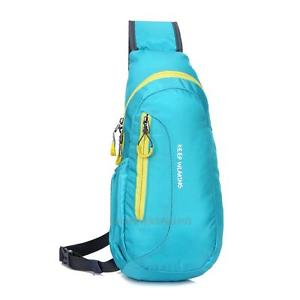 Unisex Sports Running Waterproof Nylon Cross Body Shoulder Belt Chest Bag New
