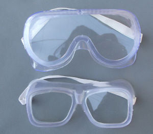 Eye Protection Protective Lab Anti Fog Clear Goggles Glasses Vented Safety TB