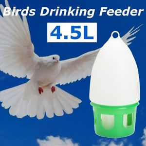 Alcoa Prime Water Dove Drink Drinking Dispenser Pigeon Birds Canary Drinker Feeder Supplies