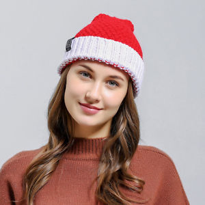Alcoa Prime Fashion Christmas Style Knitted Men Women Beanie Hat Warm Cap Gift Natural