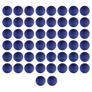 50x Pack Red Round Compatible Toy Bullet Balls For Nerf Rival Zeus Apollo Refill