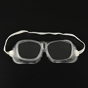 Eye Protection Lab Anti Fog Clear Goggles Glasses Vented Safety US Cool TB