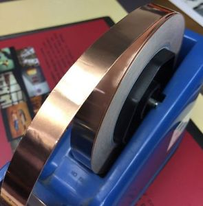 Replacing Worn Copper Foil Tape for 9v Trains 10mm 1Meter