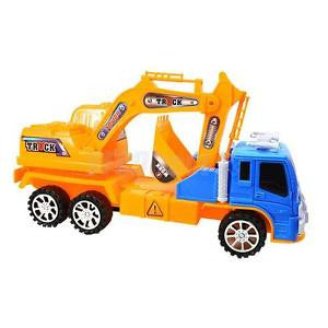 Alcoa Prime Mini Engineering Vehicle Excavator Truck Model Children Educational Toy #2