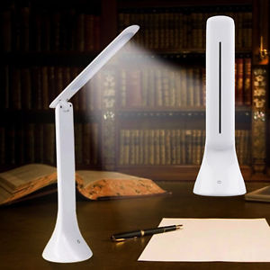 Adjustable USB Rechargeable New Touch Sensor LED Desk Table Lamp Reading Light.