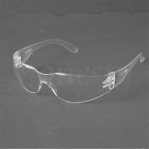 Alcoa Prime 2pcs Clear Frame Safety Glasses SandProof Labor Protective Eyewear Clear Lens