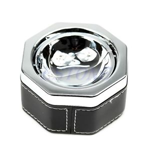 Hexagon Cigarette Ash New Portable Ashtray Smokeless Holder With Lid Fashion
