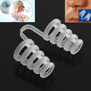 Anti Snoring Snore Stopper Nasal Dilators Apnea Device Nose Clip Aid Easy Sleep