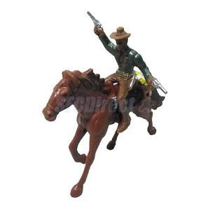 Alcoa Prime West Cowboy on Horse People Model Action Figures Kids Toy Gifts Home Decor