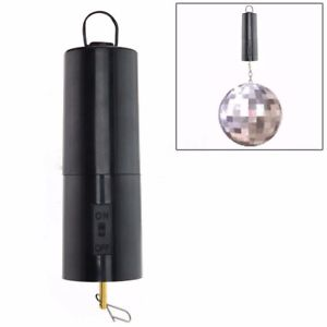 Alcoa Prime Black Mirror Ball Motor Spin Battery Operated Rotating Turning Party Wedding