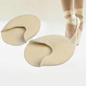 Ballet Dance Tiptoe Toe Caps/Covers/Pads/Protectors for Ballet/Casual