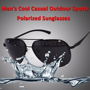 Men's UV400 Polarized Sunglasses Driving Outdoor Sports Fishing Eyewear Glasses
