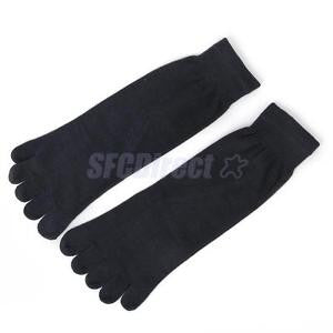 Alcoa Prime Footful Men's Women's Sports Yoga Casual Five Finger 5 Toes Socks Dark Gray