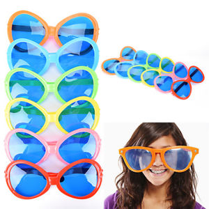 Giant Big Oversized Large Huge Novelty Funny Glasses Shade Party FancyDress La